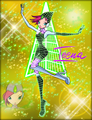 Winx in Transformation: Magic Winx (Tecna)