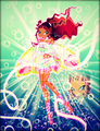 Winx in Transformation: Enchantix (Layla) - the-winx-club fan art