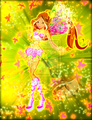 Winx in Transformation: Believix (Flora) - the-winx-club fan art