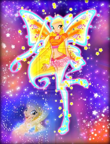 윙스 클럽 바탕화면 entitled Winx in Transformation: Believix (Stella)