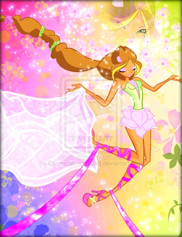 Winx in Transformation: Harmonix (Flora)
