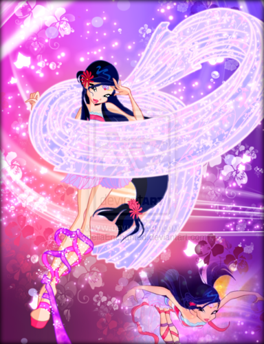 El Club Winx fondo de pantalla titled Winx in Transformation: Harmonix (Musa)