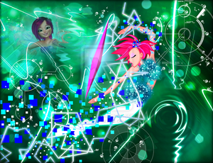 Winx in Transformation: Sirenix (Tecna)
