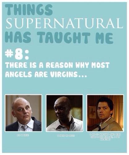 supernatural fondo de pantalla entitled Things supernatural Has Taught Me