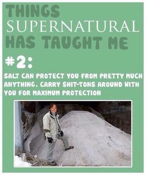 Things supernatural Has Taught Me