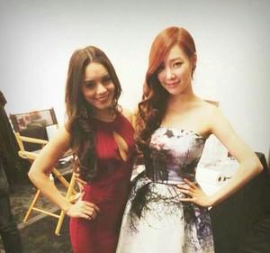 Tiffany and Vanessa Hudgens
