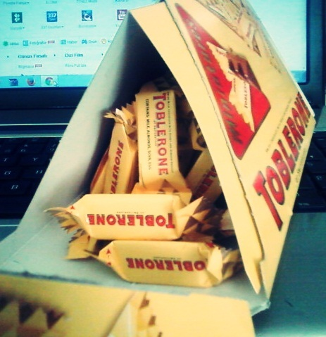 cokelat wallpaper possibly with a packing box entitled Toblerone