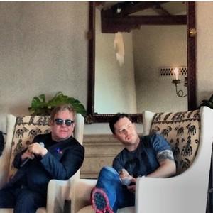 Tom Hardy & Elton in Santa Monica