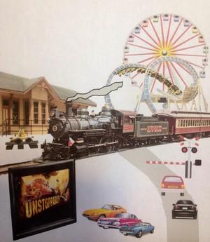 Train Town Scene
