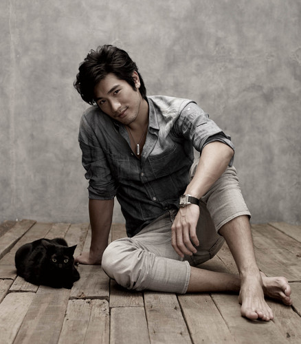 Godfrey Gao achtergrond called Unknown photoshoot #1