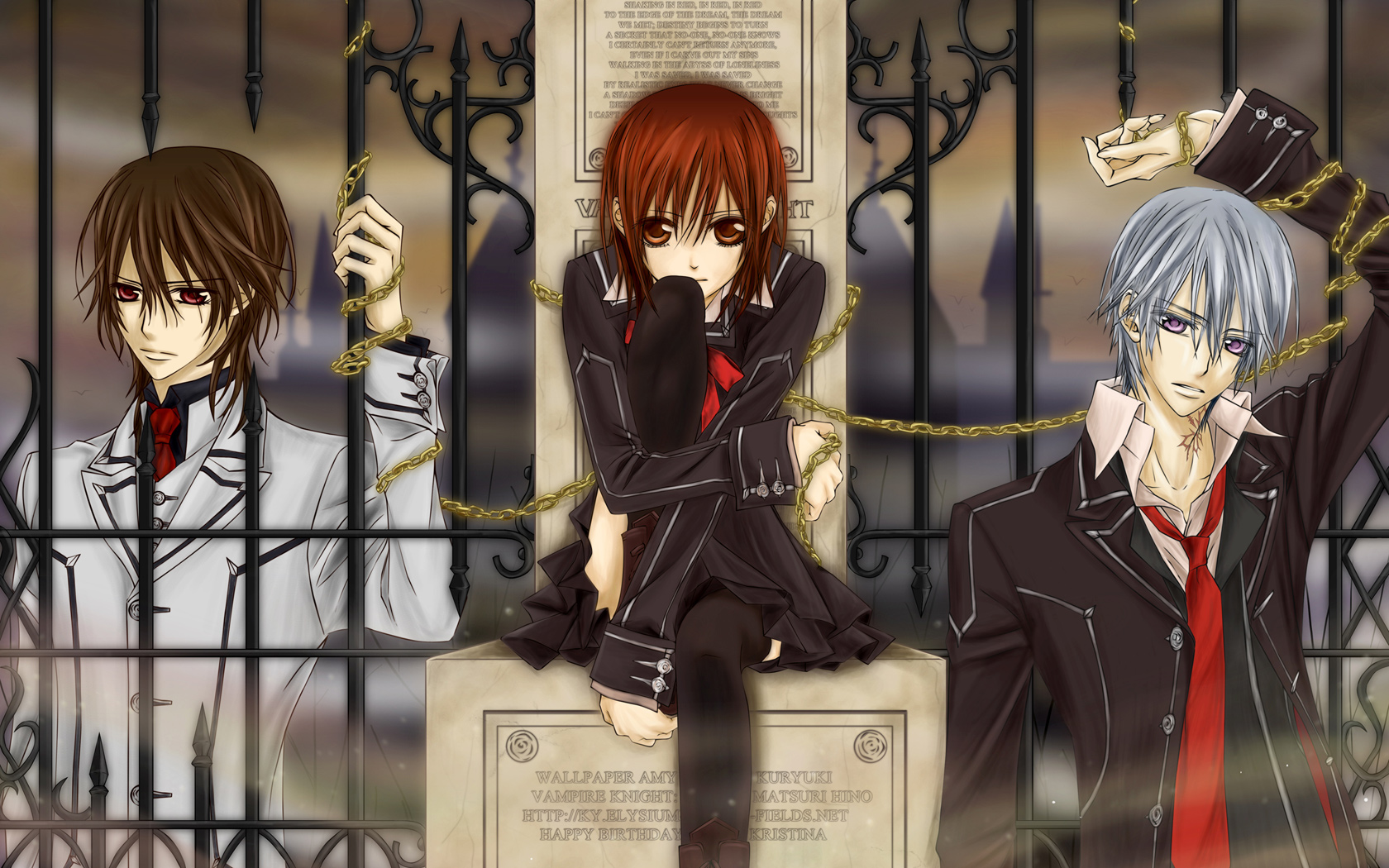 vampire knight wallpaper - photo #16