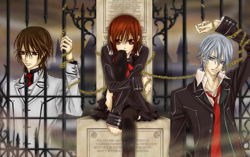 Vampire Knight wolpeyper possibly with a business suit entitled Vampire knight