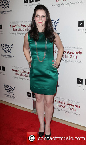 Vanessa Marano at Beverly Hilton Hotel