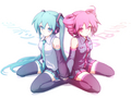 Miku and Teto - vocaloids photo