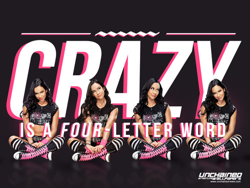 wwe divas fondo de pantalla possibly containing anime titled Crazy is a Four Letter Word