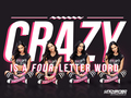 wwe - AJ Lee - Crazy is a Four Letter Word wallpaper