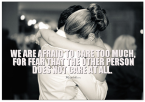 We Are Afraid...