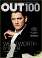 Wentworth Miller Covers 'Out 100' for December 2013 Issue