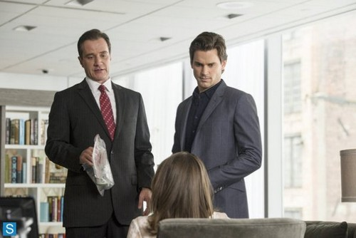 White Collar wallpaper containing a business suit and a suit titled White Collar - 5.04 - Controlling Interest - Promo Pics