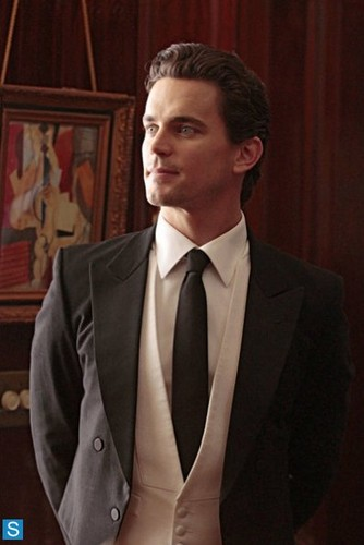White Collar wallpaper containing a business suit, a suit, and a pinstripe called White Collar - 5.05 - Master Plan - Promo Pics