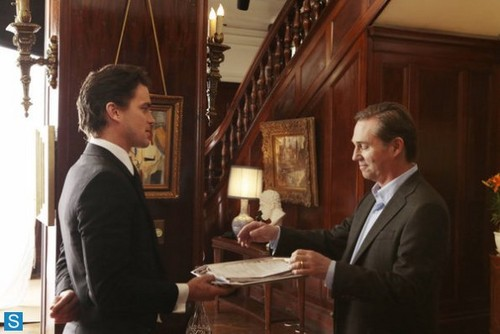 White Collar wallpaper containing a business suit entitled White Collar - 5.05 - Master Plan - Promo Pics