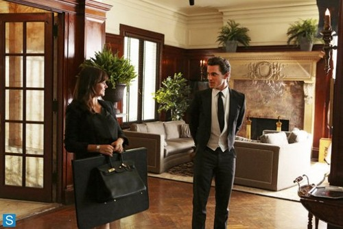 White Collar wallpaper containing a business suit titled White Collar - 5.05 - Master Plan - Promo Pics