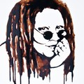 Whoopi Goldberg Chocolate Portrait - whoopi-goldberg fan art