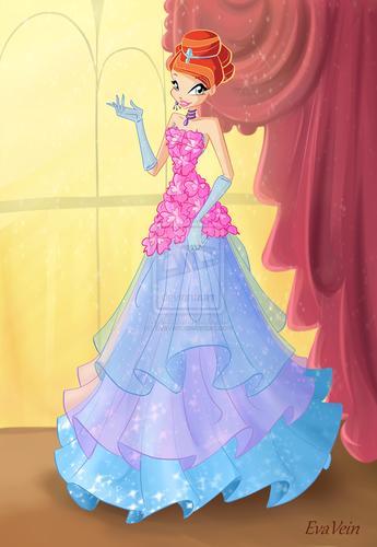 উইংস ক্লাব দেওয়ালপত্র called Bloom ফুল Princess