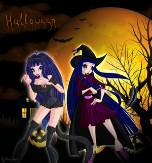 Musa and Chimera Хэллоуин