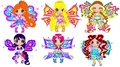 Chibi Winx Flyrix - winx-club-bloom-and-stella fan art