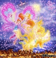 Bloom and Stella Flyrix - winx-club-bloom-and-stella fan art