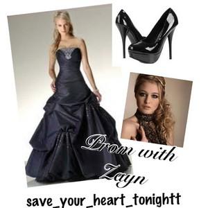 prom with zayn