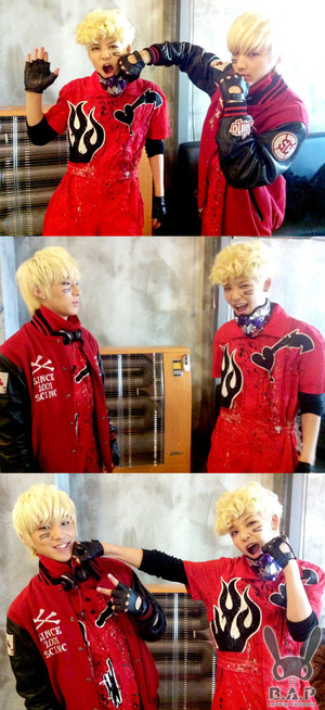º ☆.¸¸.•´¯`♥ Jongup and Zelo! º ☆.¸¸.•´¯`♥