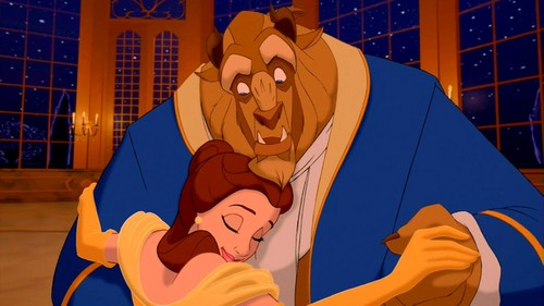 Beauty and the Beast wallpaper titled beauty and the beast love