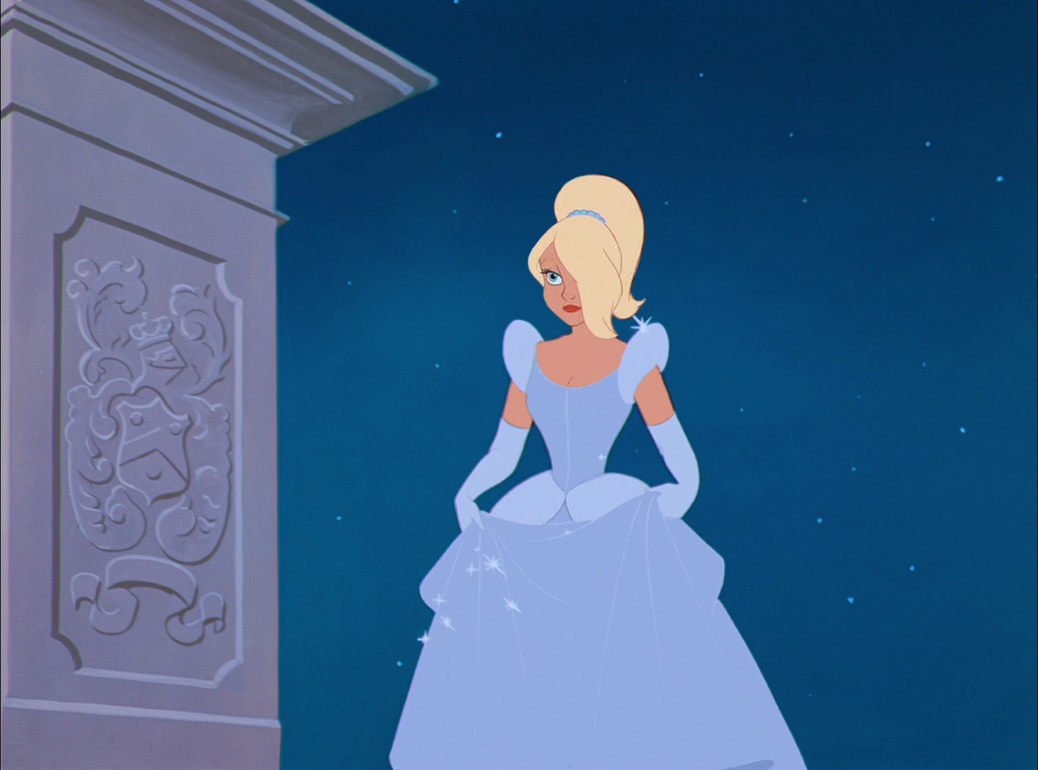 Arista In Cinderella's Dress