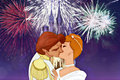 Kiss me under the fireworks