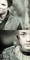 Arya Stark & Gendry - game-of-thrones fan art