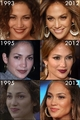 jennifer lopez then and now - actresses fan art