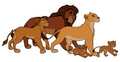 kiara's family - the-lion-king-2-simbas-pride photo