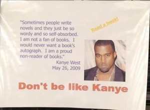 kids dont be like Kanye