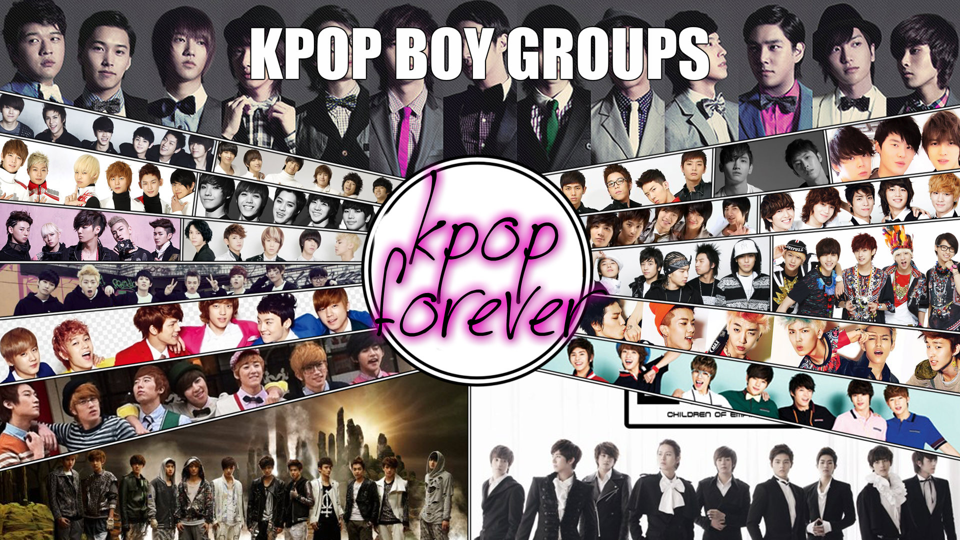 kpop groups boys