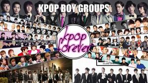 K-pop boy groups