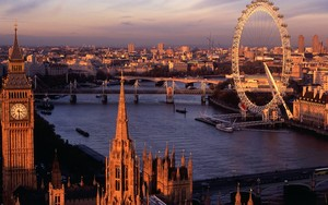 Лондон view