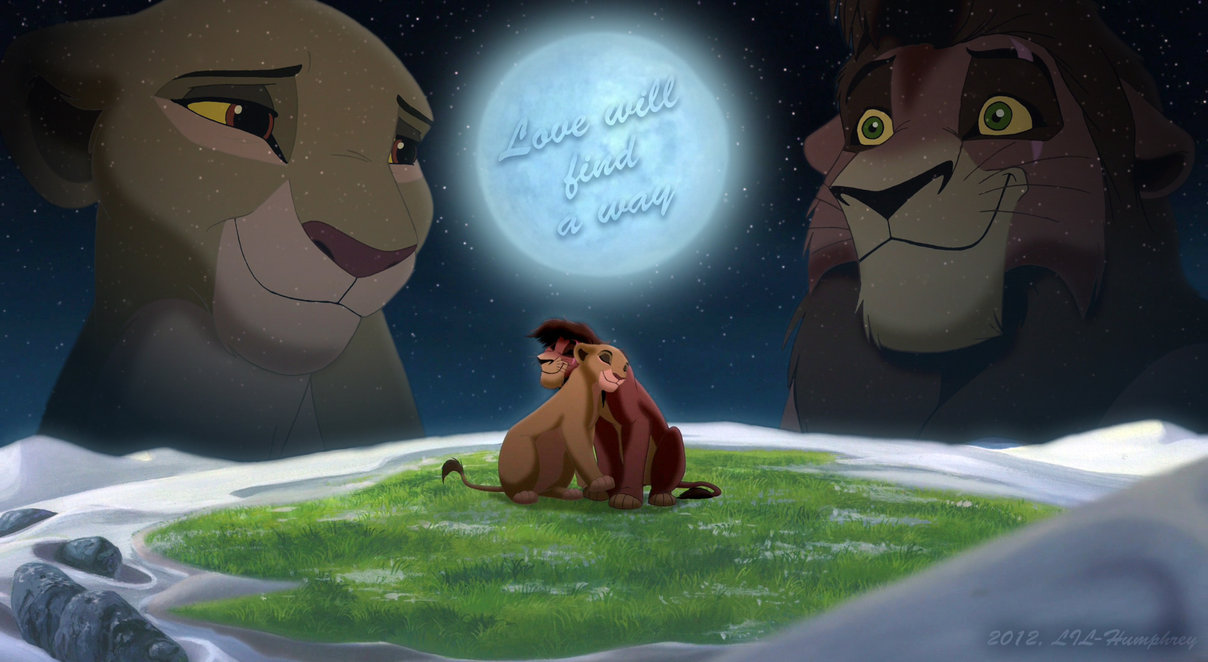 Kiara & Kovu Images Love Will Find A Way HD Wallpaper And
