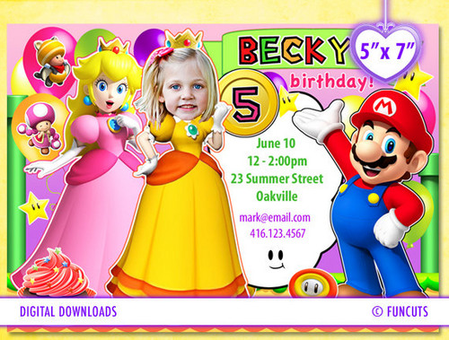 Princess Peach wallpaper entitled mario party birthday