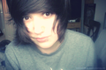 me - Casper Blackwell. - emo photo