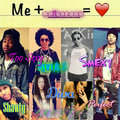 me and my prince  - mindless-behavior fan art