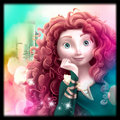 merida - disney-princess fan art