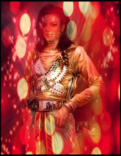 Michael Jackson kertas dinding containing a konsert entitled michael