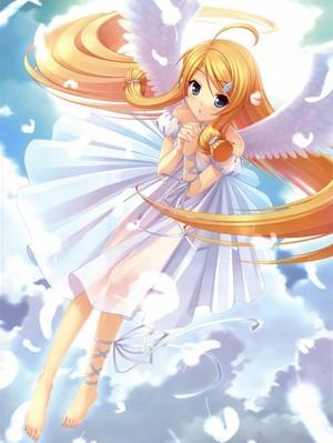Angel Anime girl